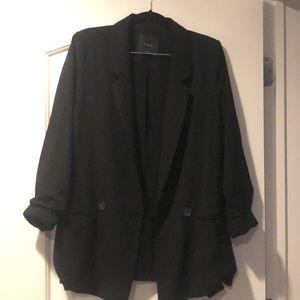 Black elodie blazer